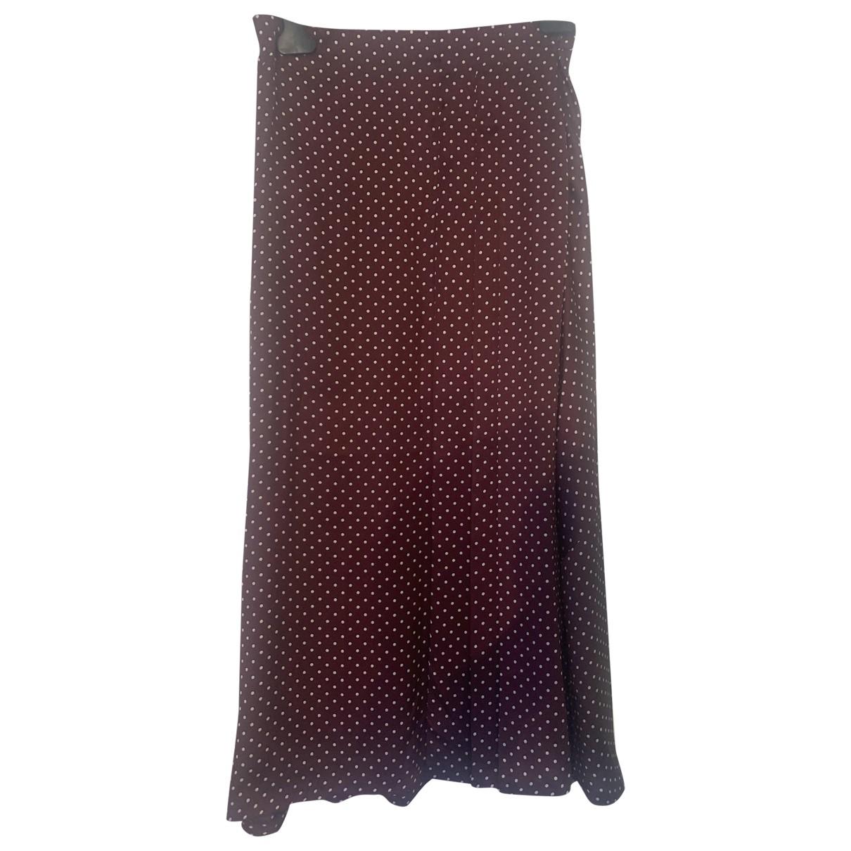 Zara \N Rocke in  Bordeauxrot Polyester