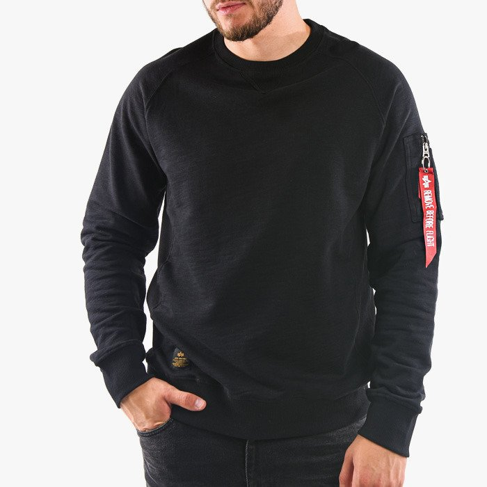 Alpha Industries Solid Crew Neck 188301 03