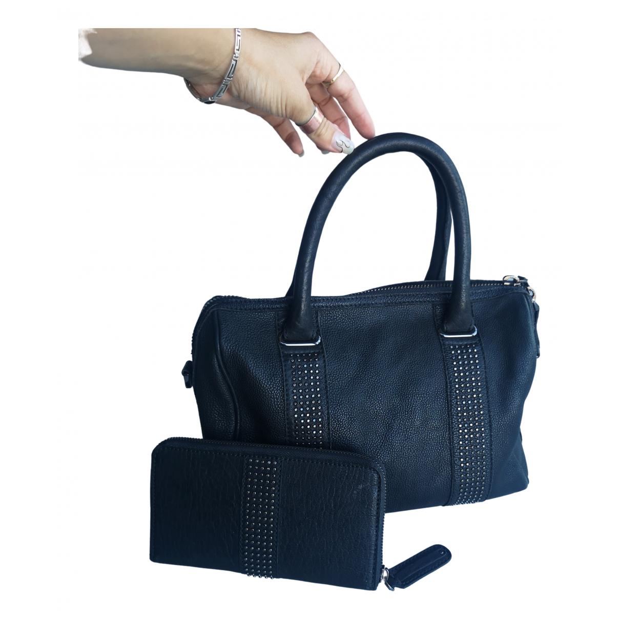 Comptoir Des Cotonniers \N Black Leather handbag for Women \N