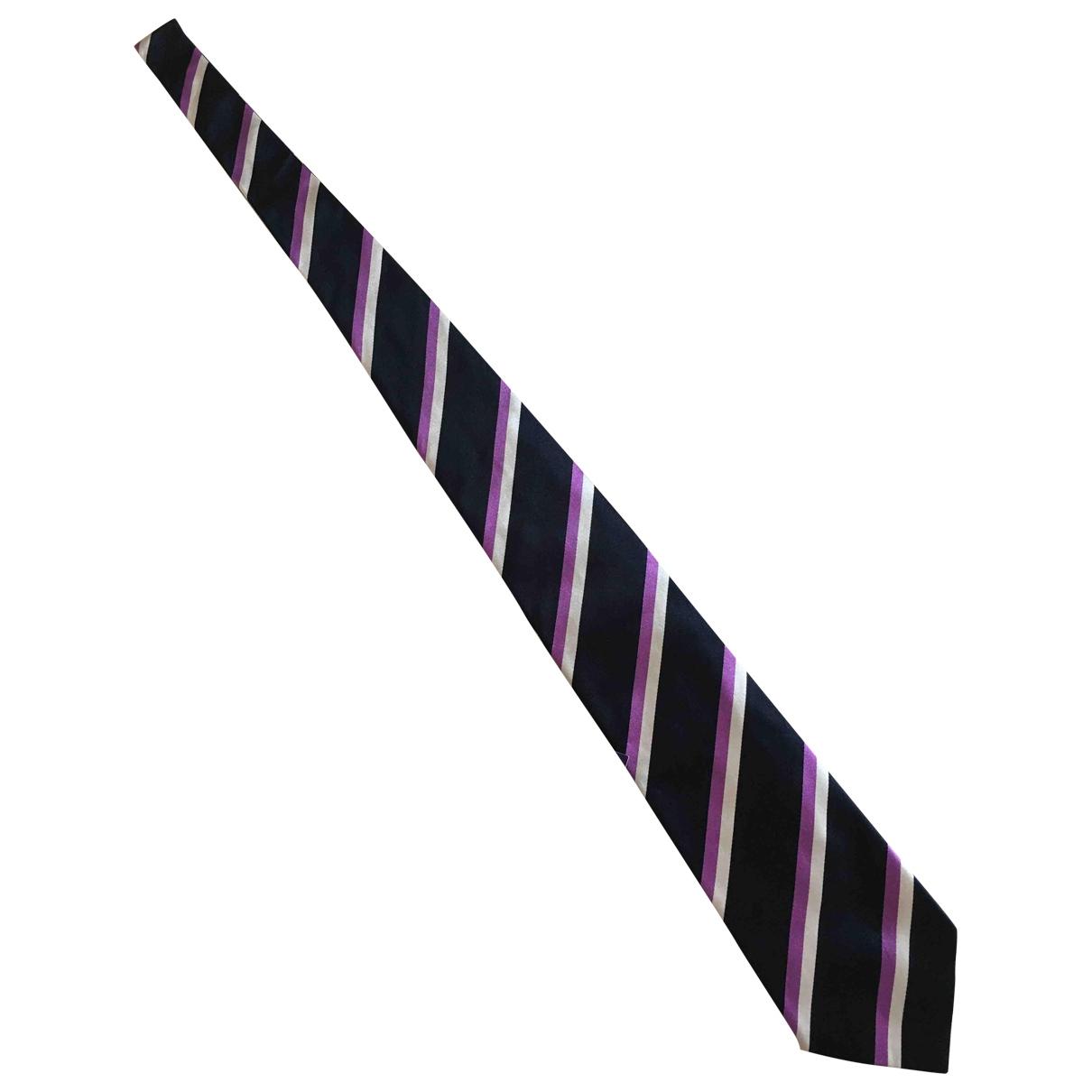 Ralph Lauren Purple Label \N Blue Silk Ties for Men \N