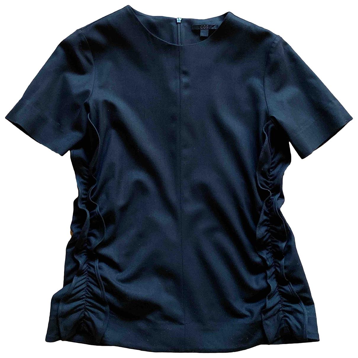 Cos \N Black Wool  top for Women 34 FR