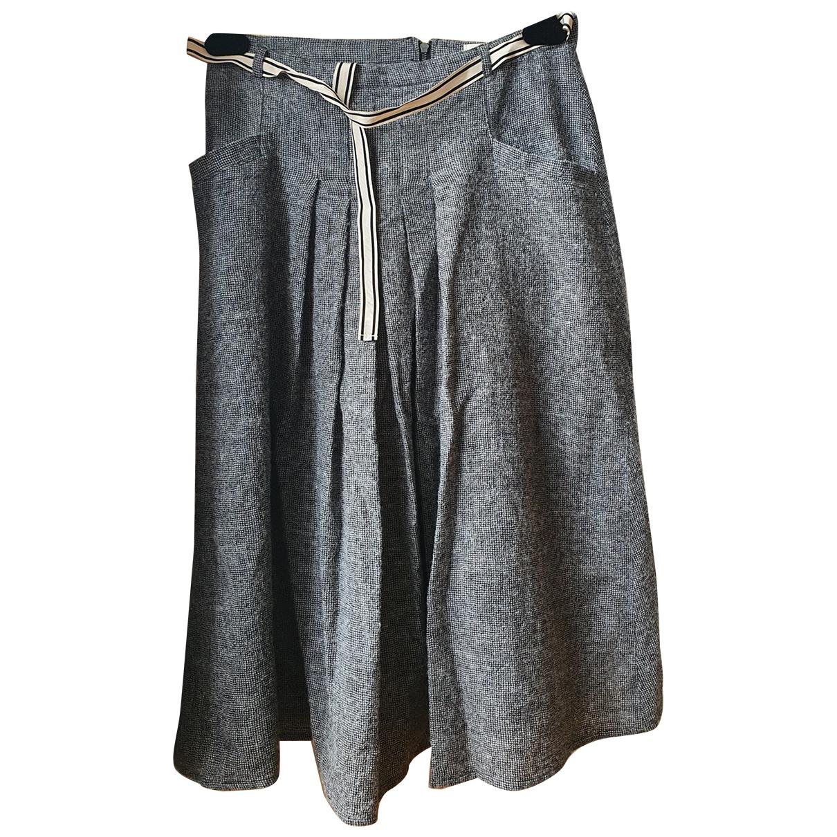 Bellerose - Jupe   pour femme en coton - gris
