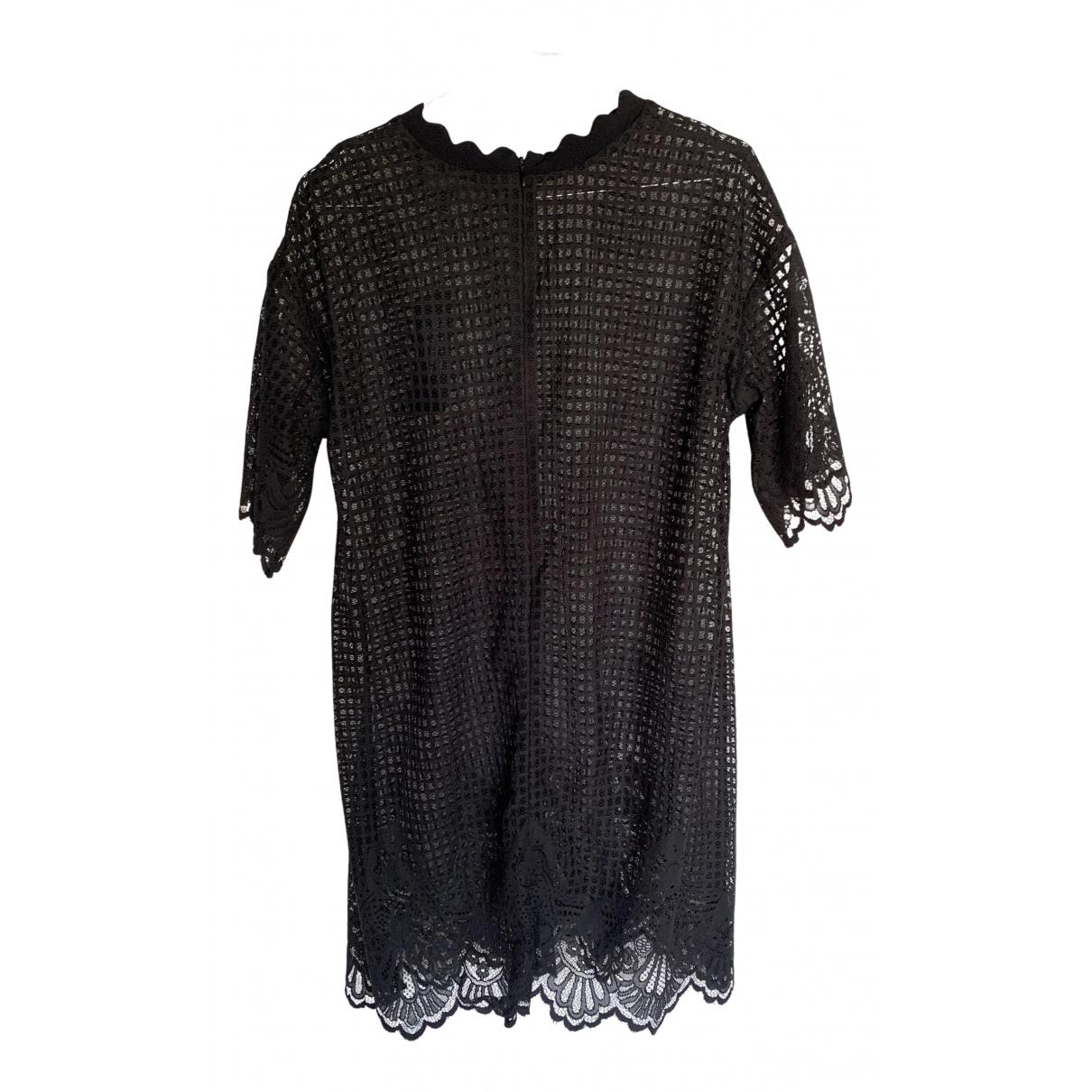Kendall + Kylie \N Kleid in  Schwarz Polyester