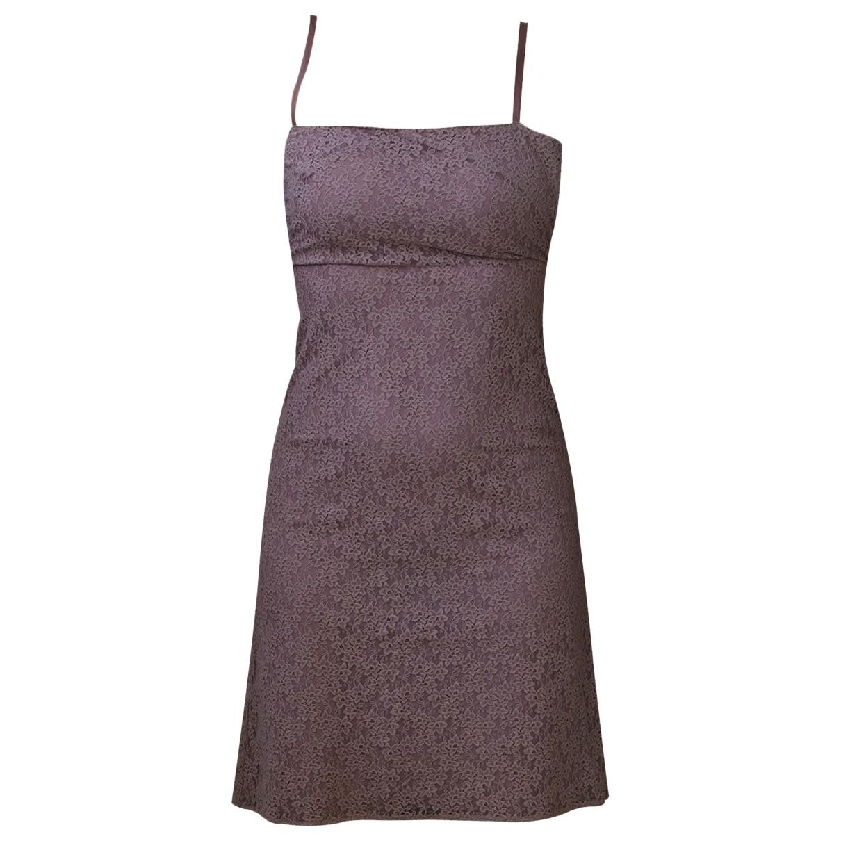 Claudie Pierlot \N Kleid in  Lila Baumwolle