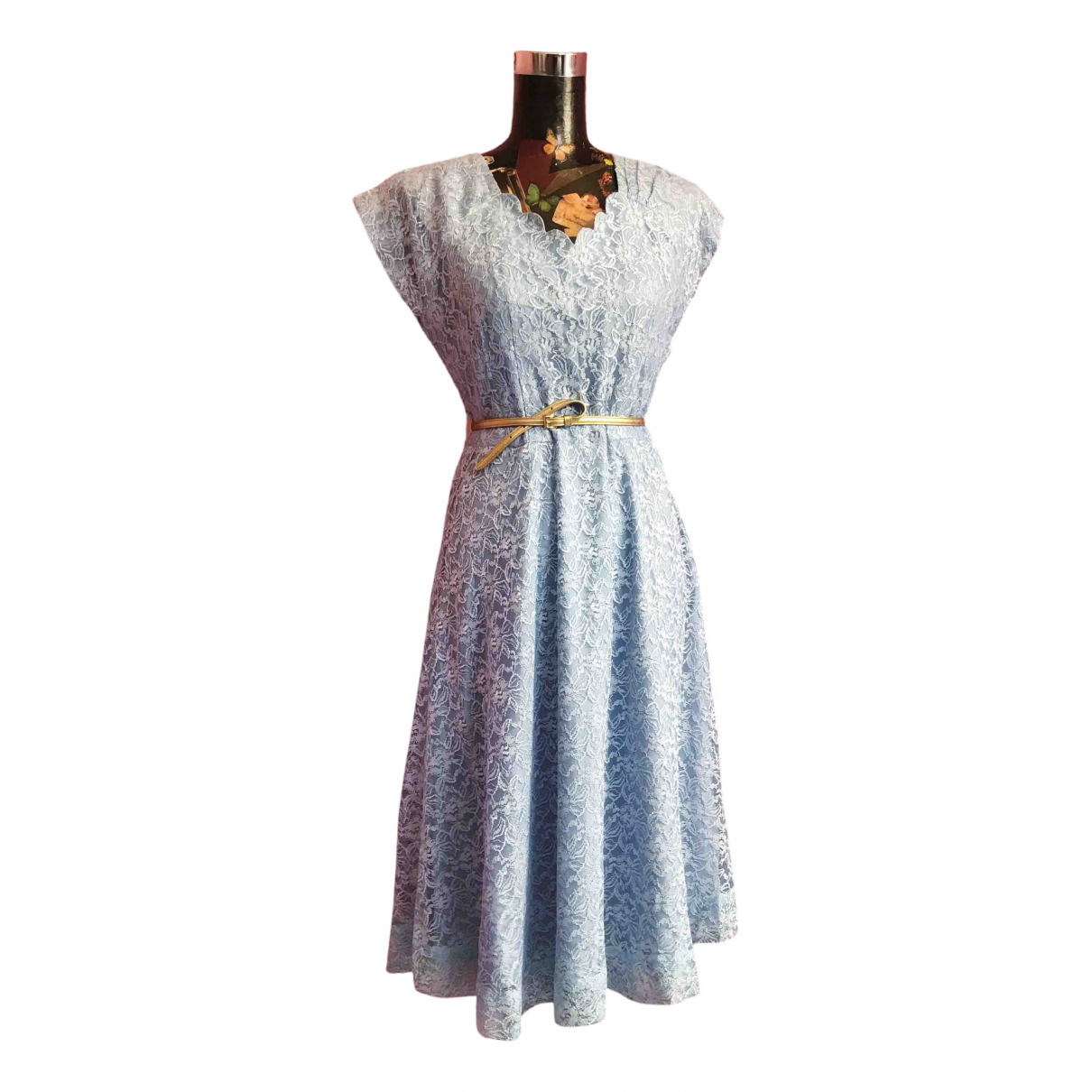 Non Signe / Unsigned \N Kleid in Spitze