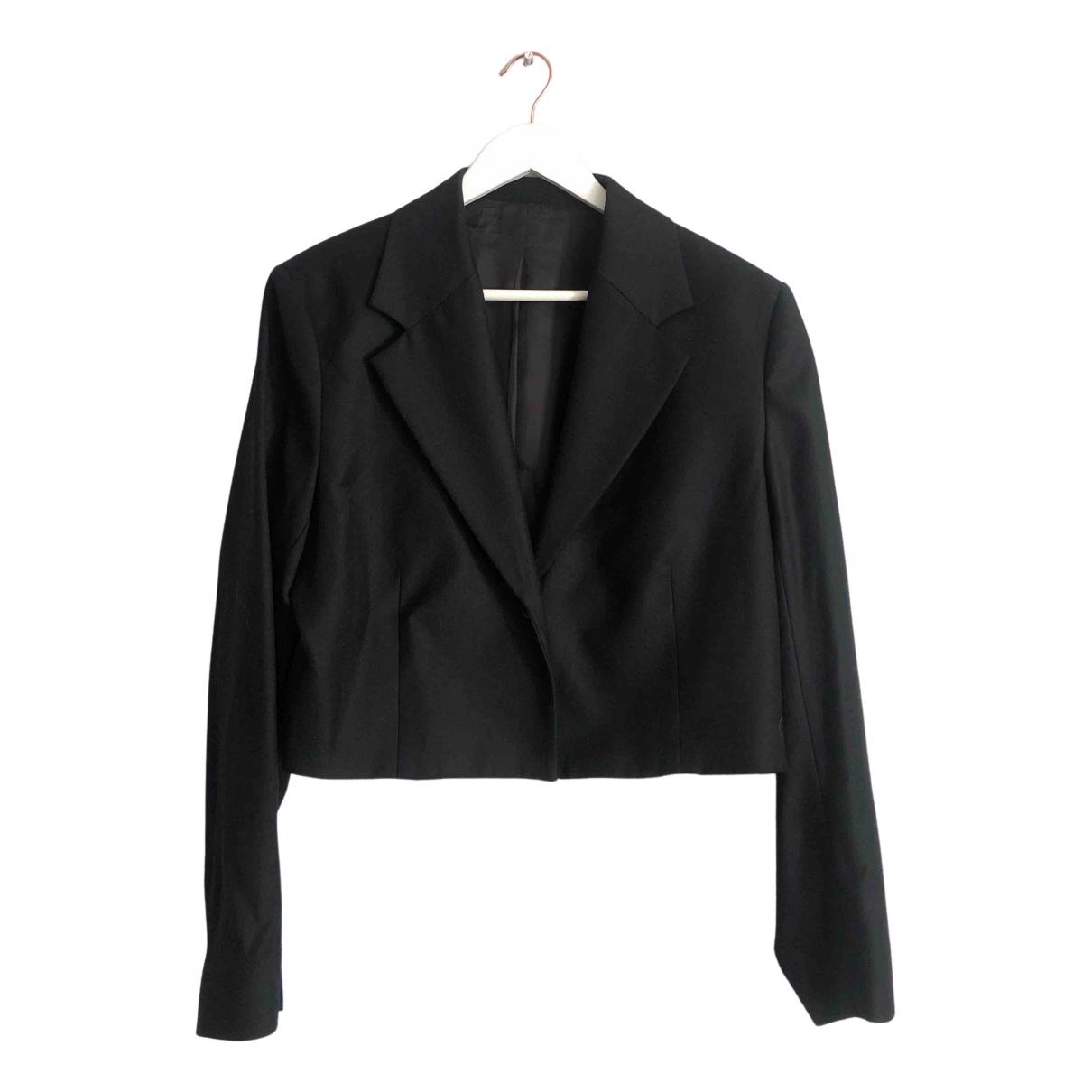 Arket - Veste   pour femme en laine - noir