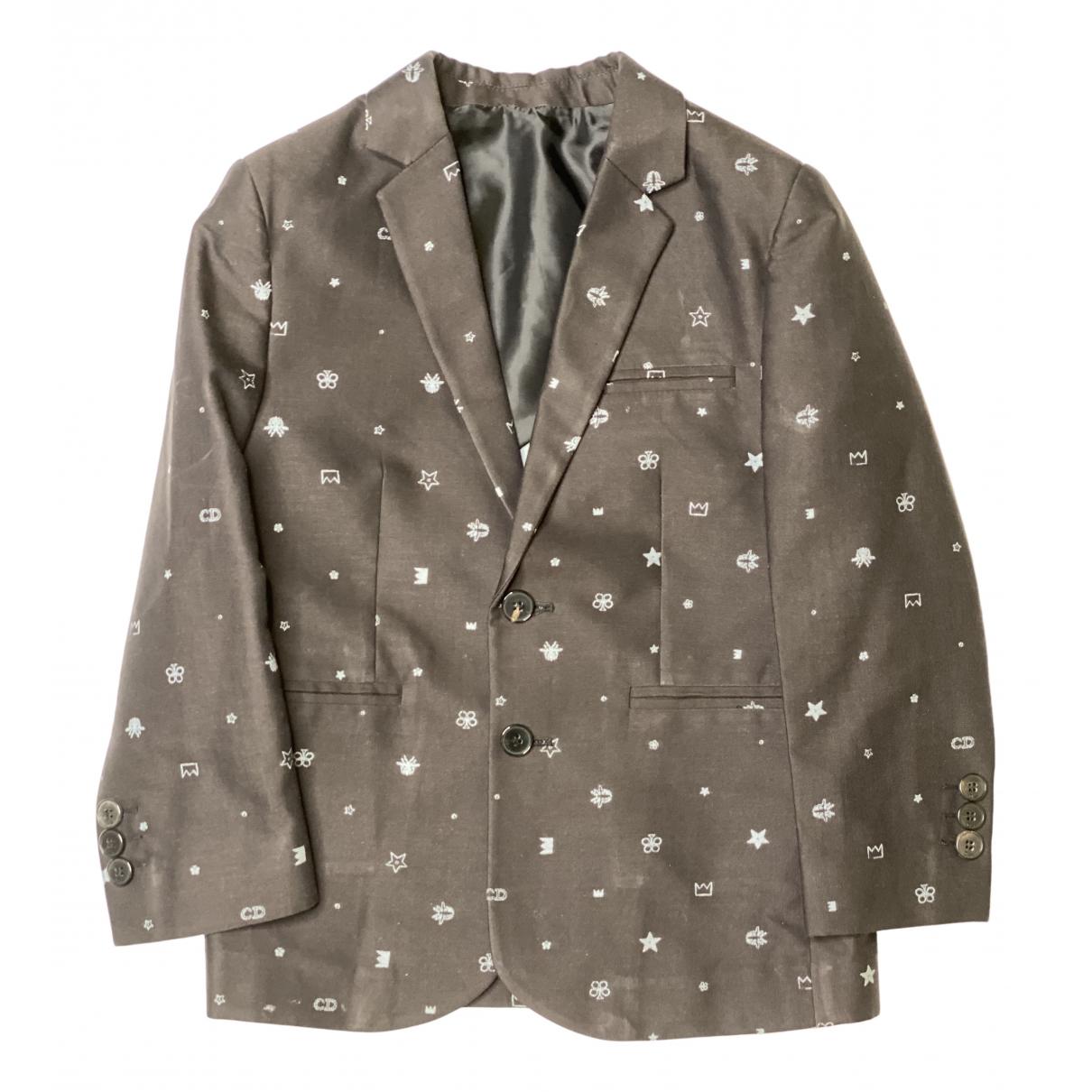 Dior - Blousons.Manteaux   pour enfant en coton - noir