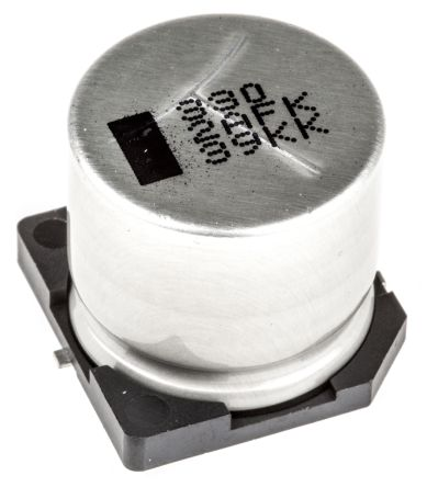 Panasonic 330μF Electrolytic Capacitor 100V dc, Surface Mount - EEVFK2A331M