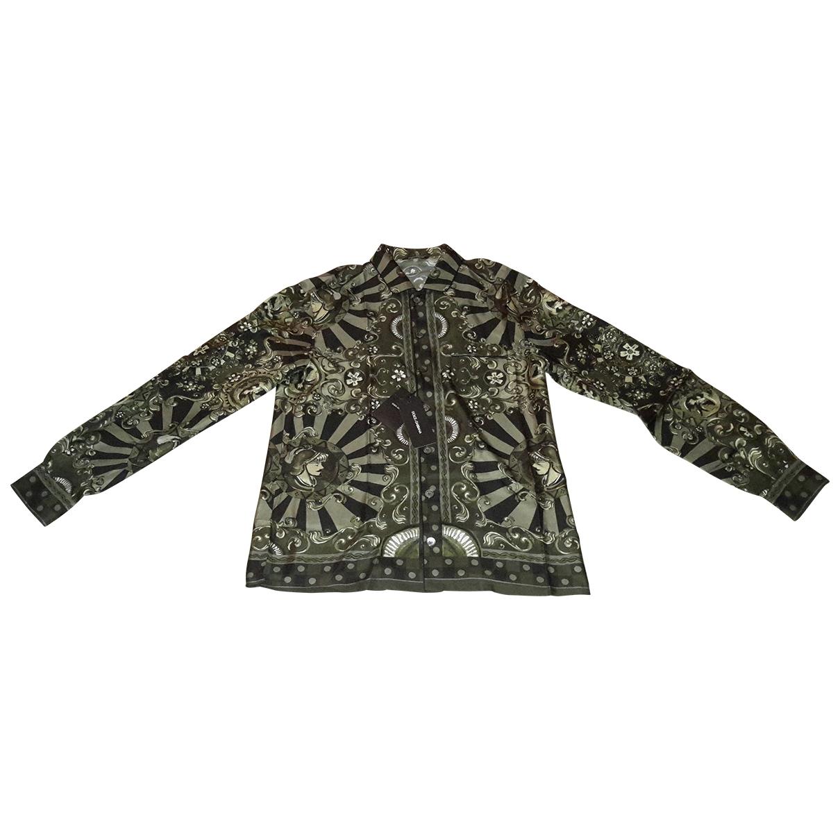 Camisas de Seda Dolce & Gabbana