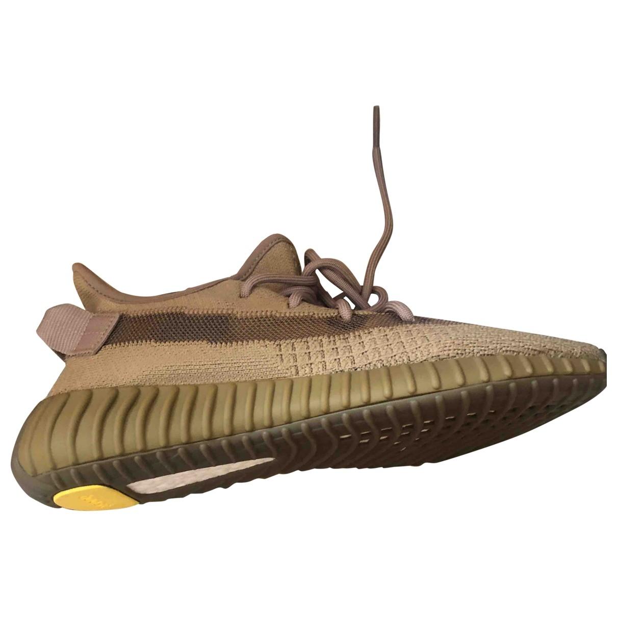 Yeezy X Adidas - Baskets Boost 350 V2 pour homme en toile - marron