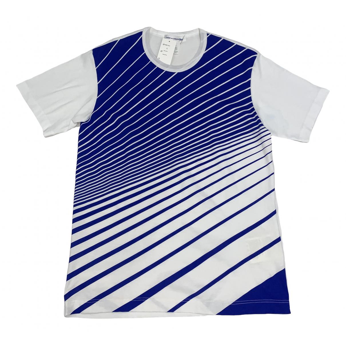 Comme Des Garcons - Tee shirts   pour homme en coton - blanc