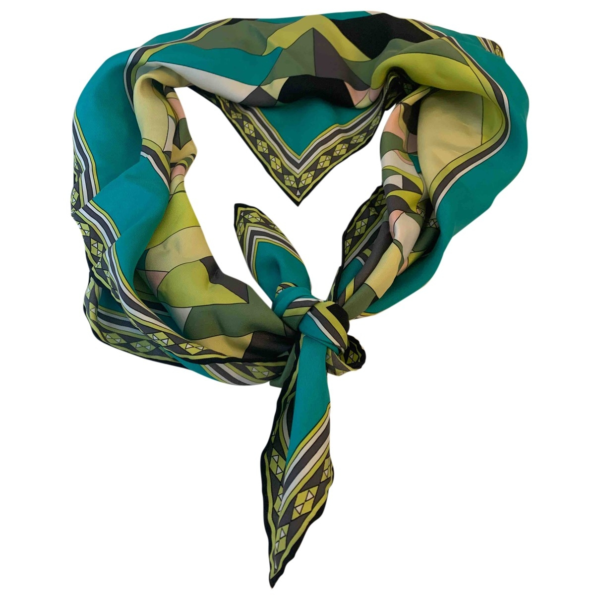 Emilio Pucci \N Silk scarf for Women \N