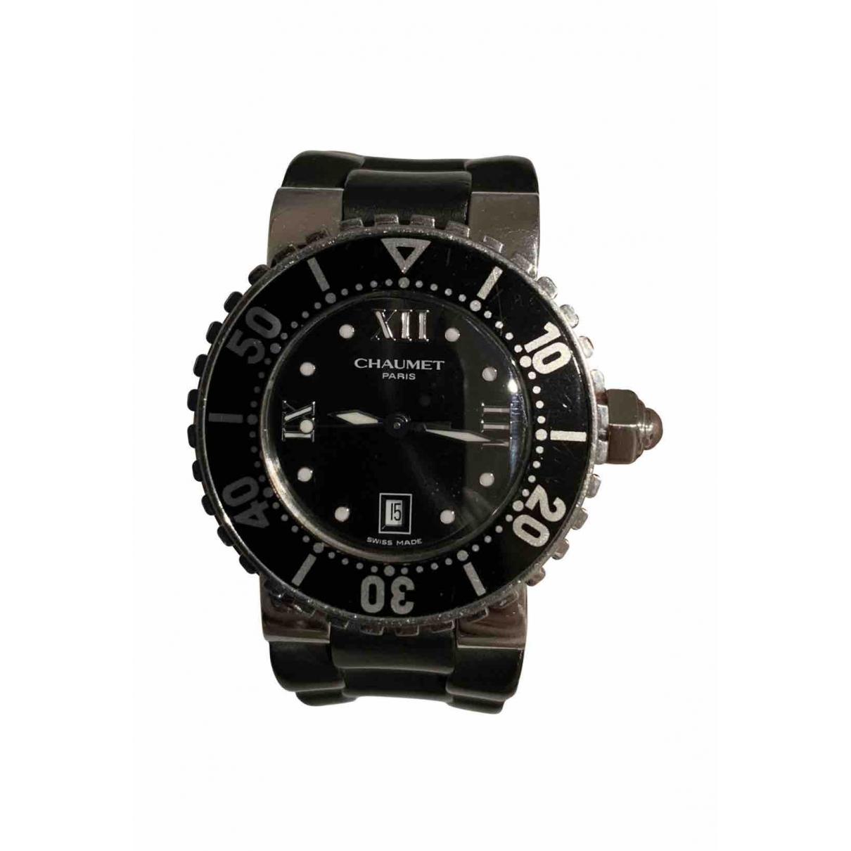 Chaumet Class One Uhr in  Schwarz Stahl