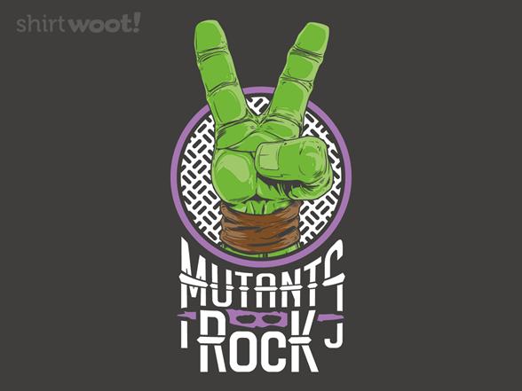 Mutants Rock T Shirt