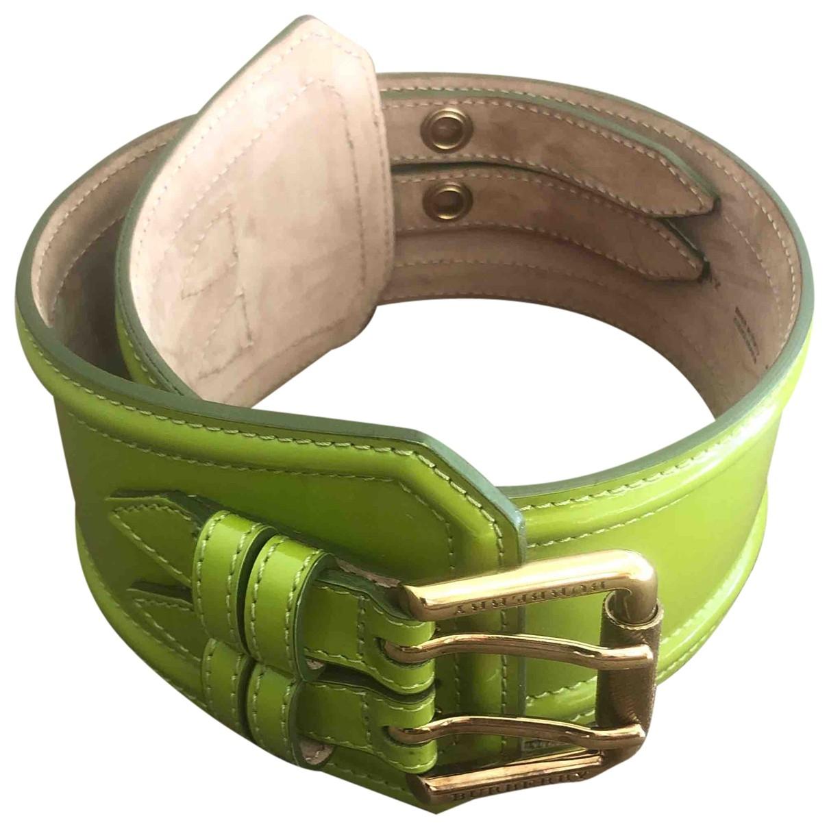 Cinturon de Charol Burberry
