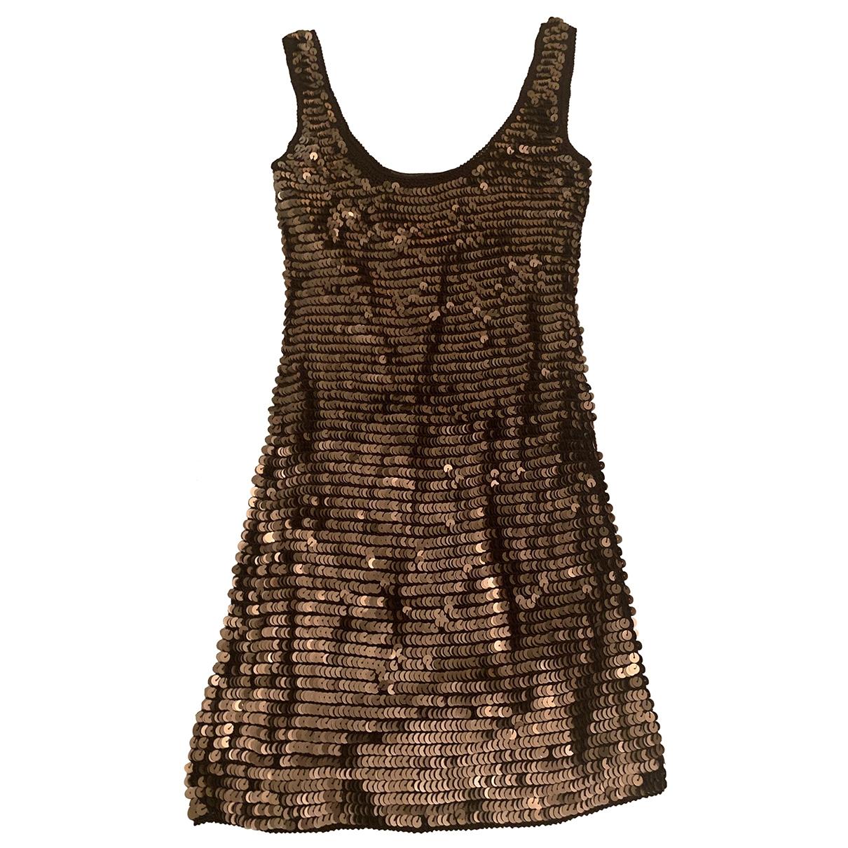 Patrizia Pepe \N Metallic Glitter dress for Women 0 0-5