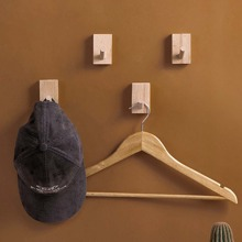 1pc Wooden Wall Hook