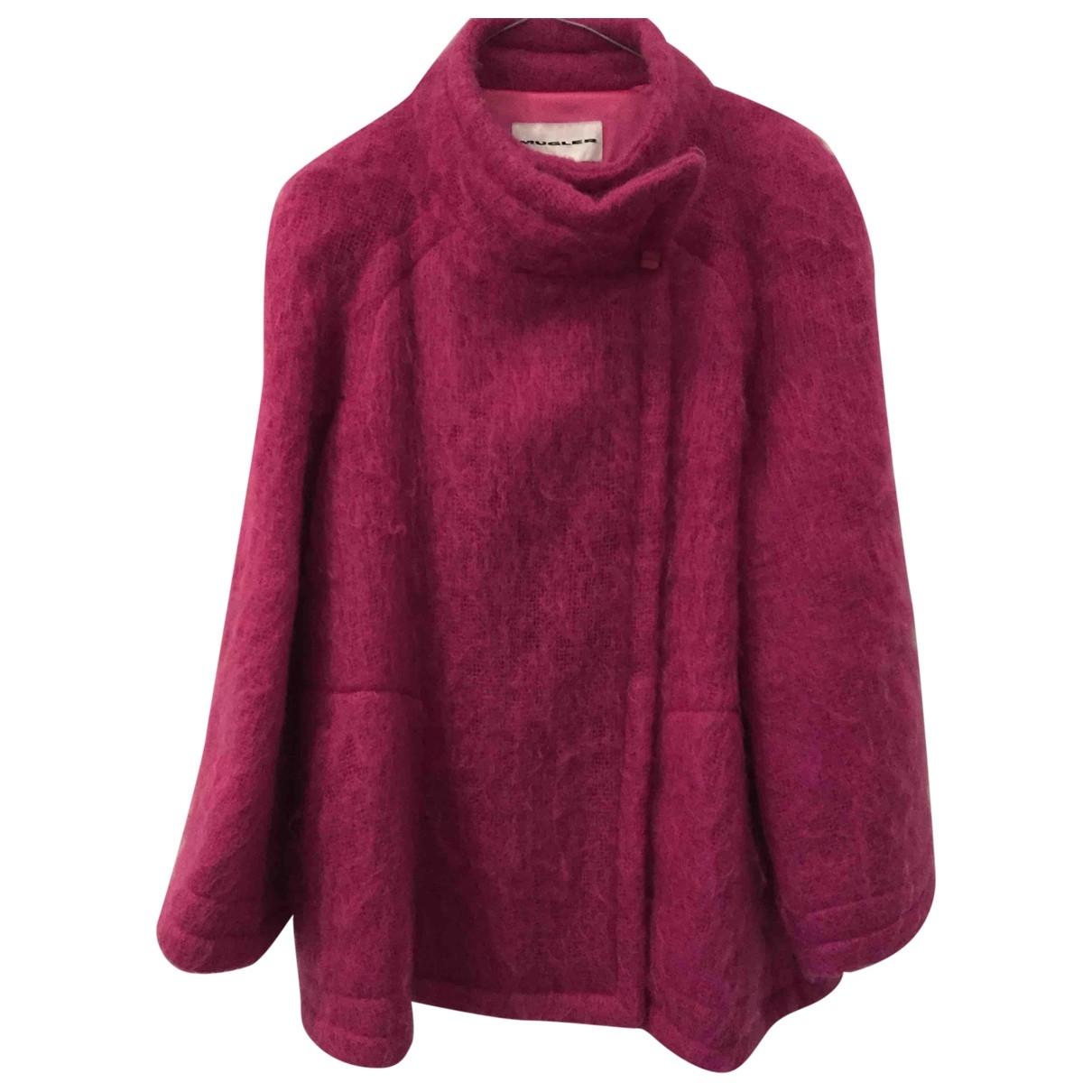 Thierry Mugler - Veste   pour femme en laine - rose