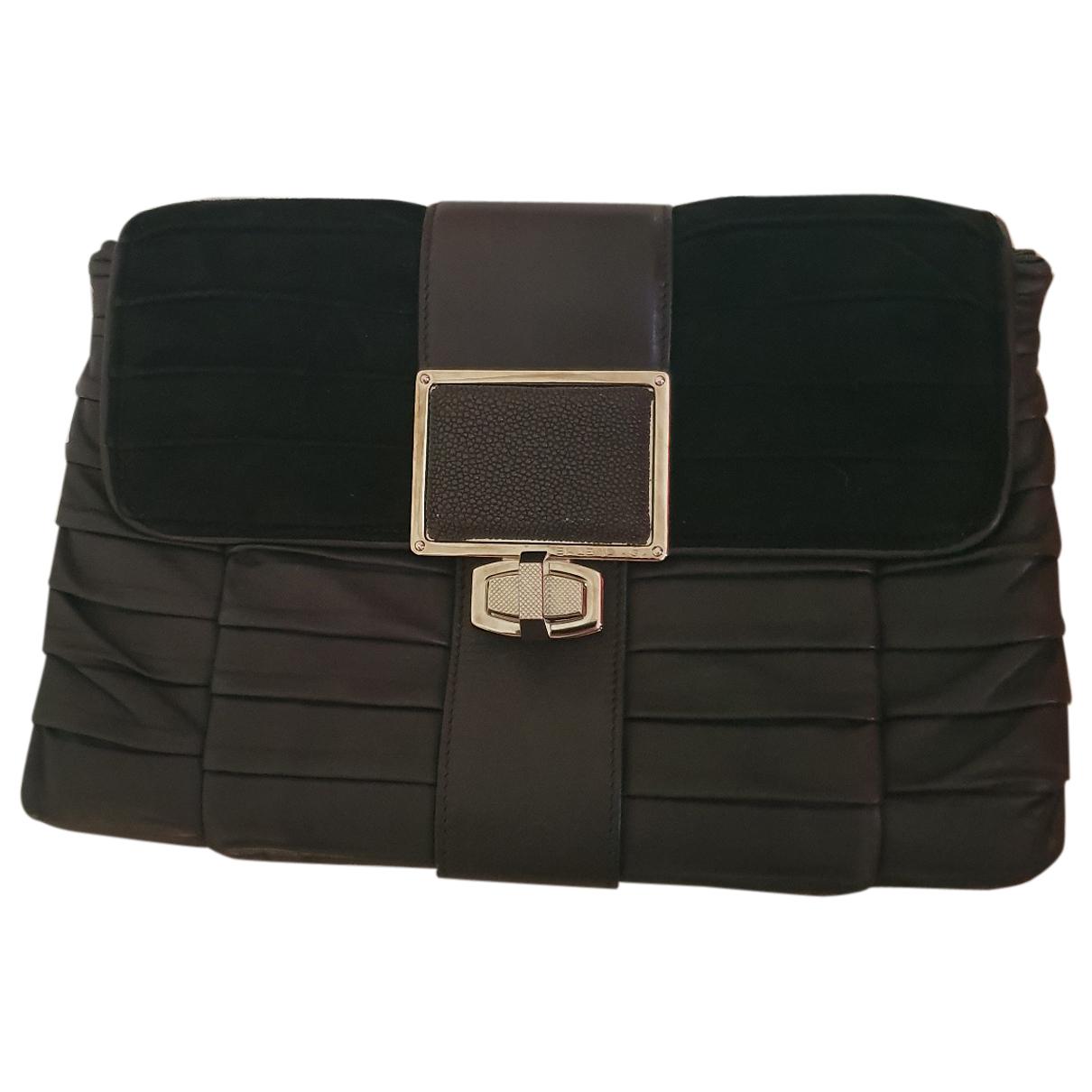 Balenciaga \N Clutch in  Grau Leder