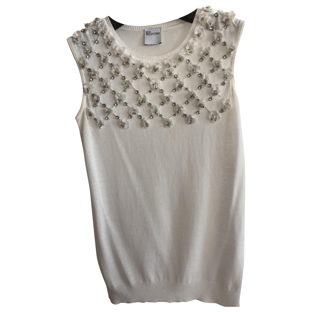 Red Valentino Garavani \N White  top for Women 38 IT