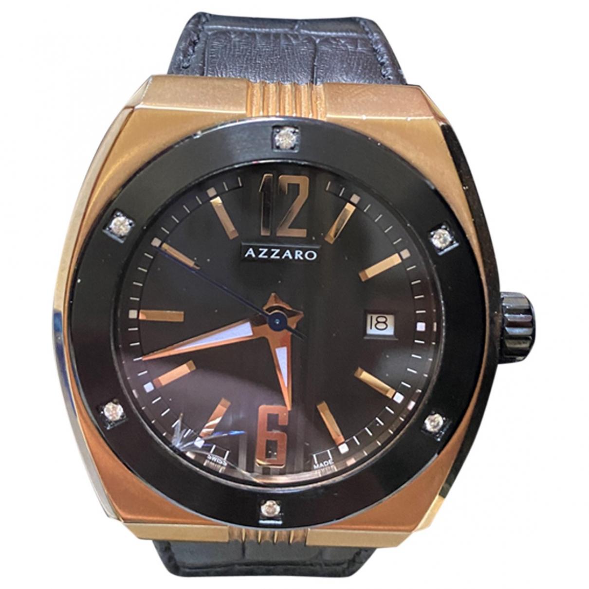 Azzaro \N Uhr in Stahl