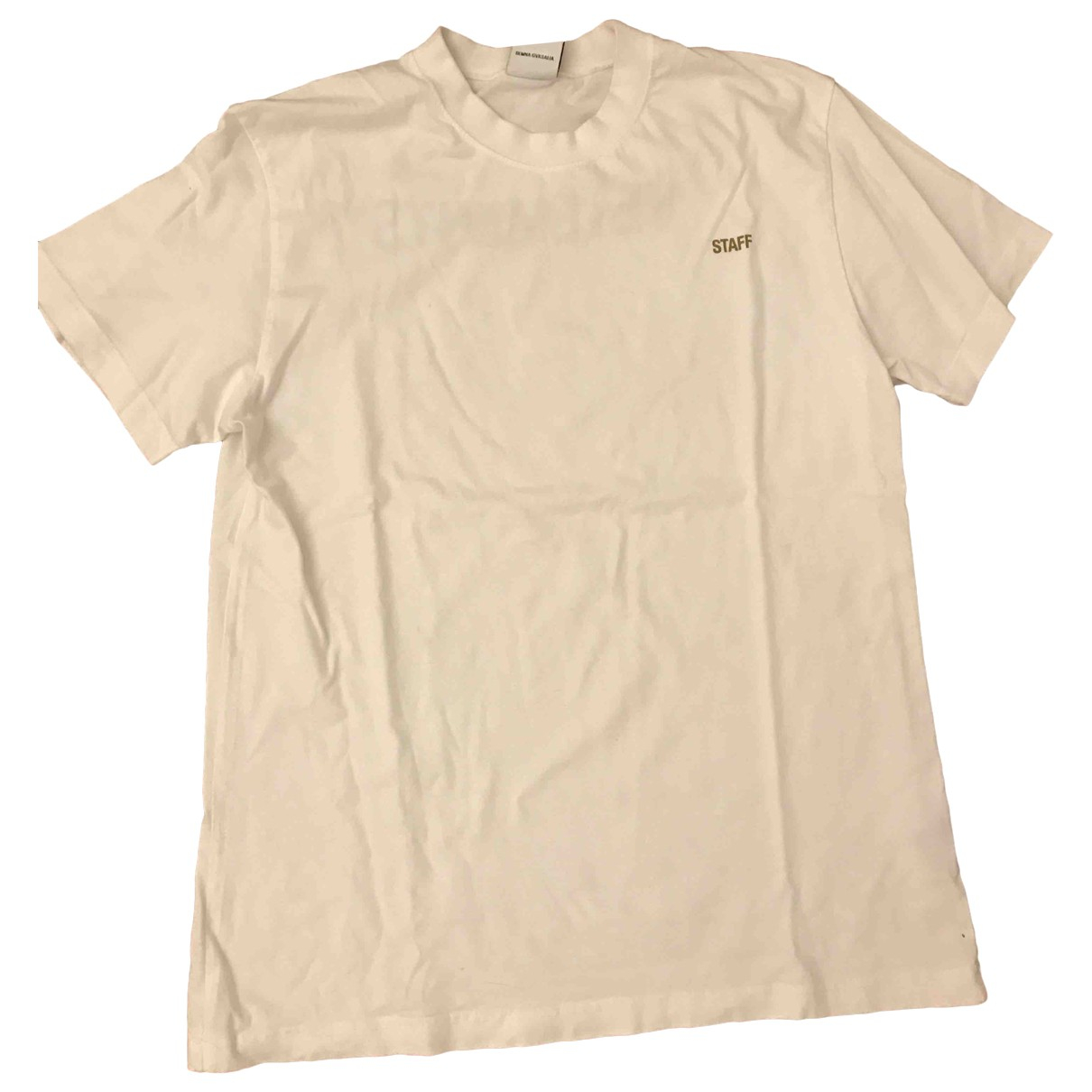Vetements \N White Cotton T-shirts for Men L International