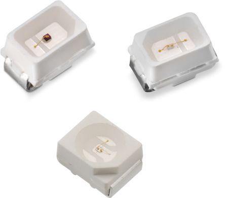 Wurth Elektronik 3.4 V Green LED 2214 SMD,  WL-SMTW 150224GS73100 (3000)