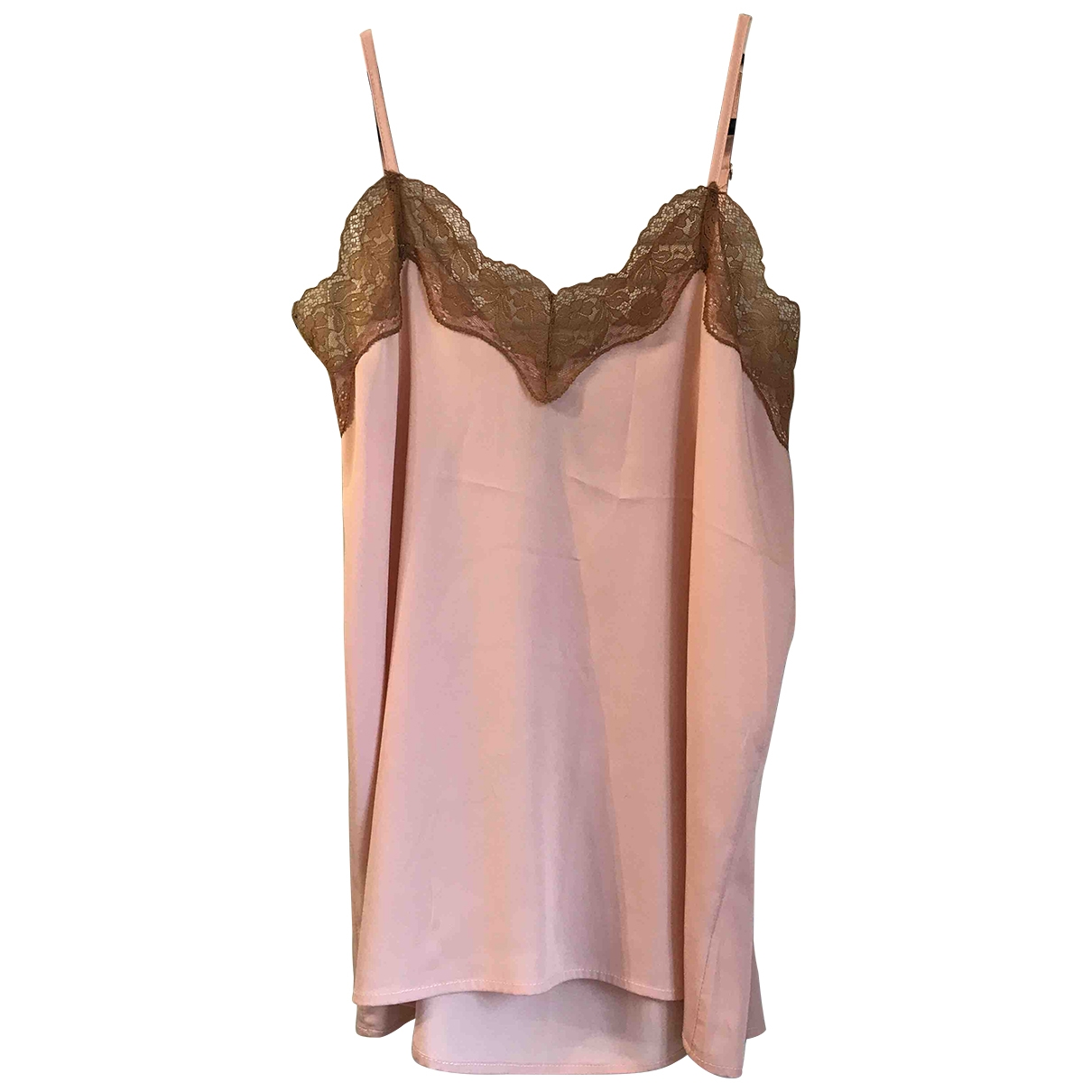 Non Signé / Unsigned \N Pink  top for Women 38 IT