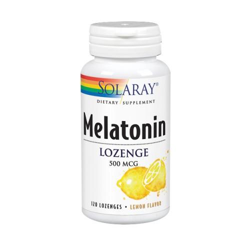 Melatonin Lemon 120 Count by Solaray