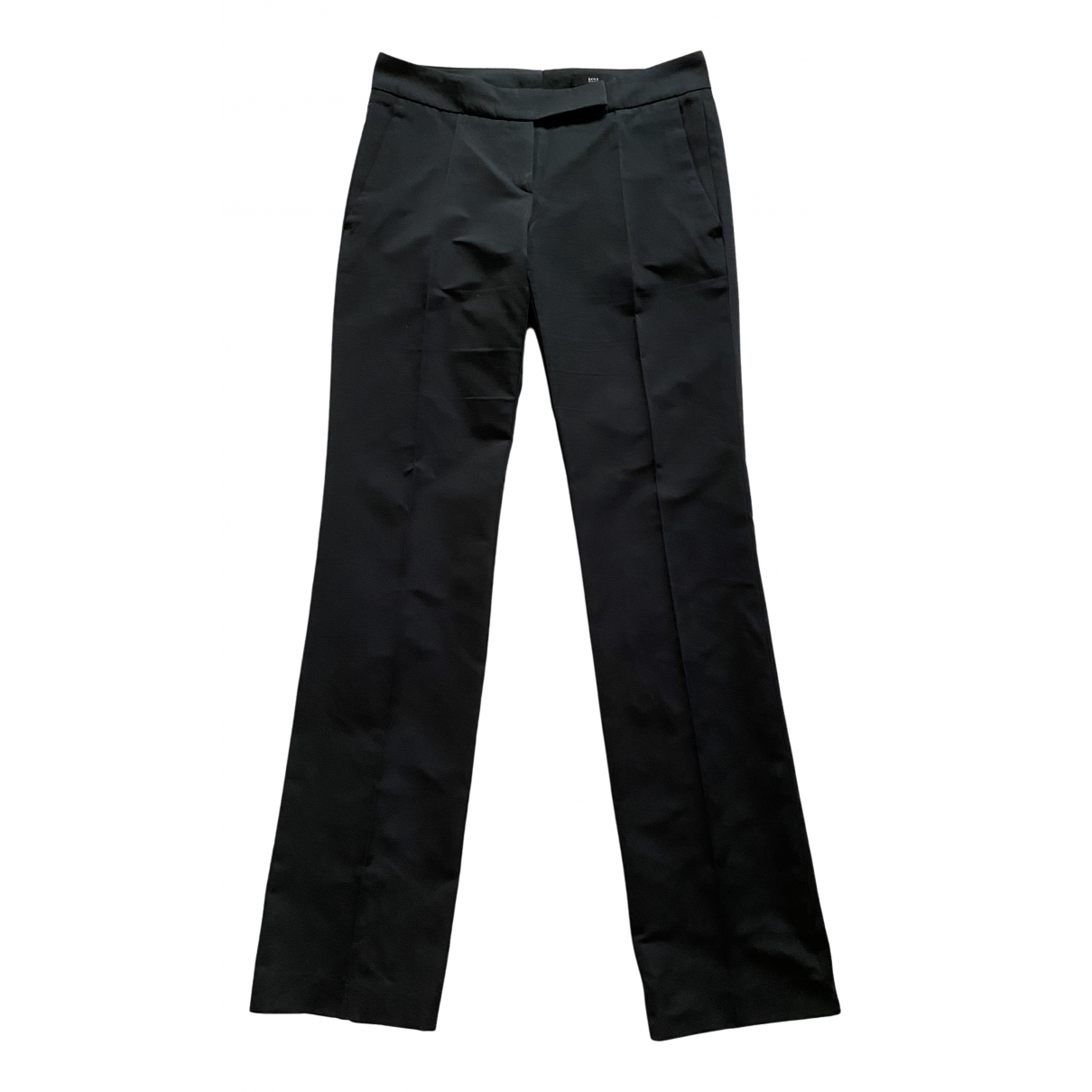 Boss N Black Trousers for Women 8 UK