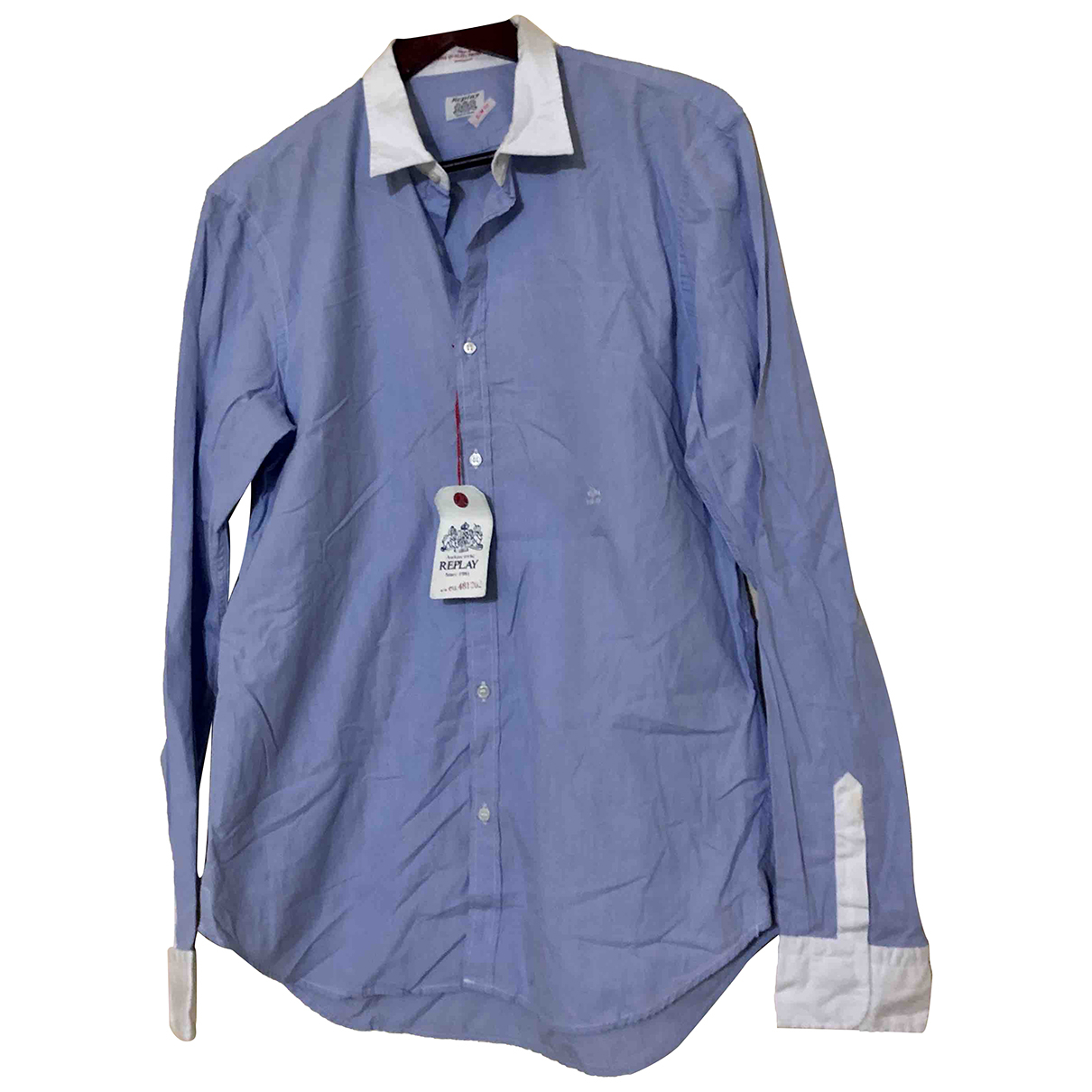 Replay - Chemises   pour homme en coton