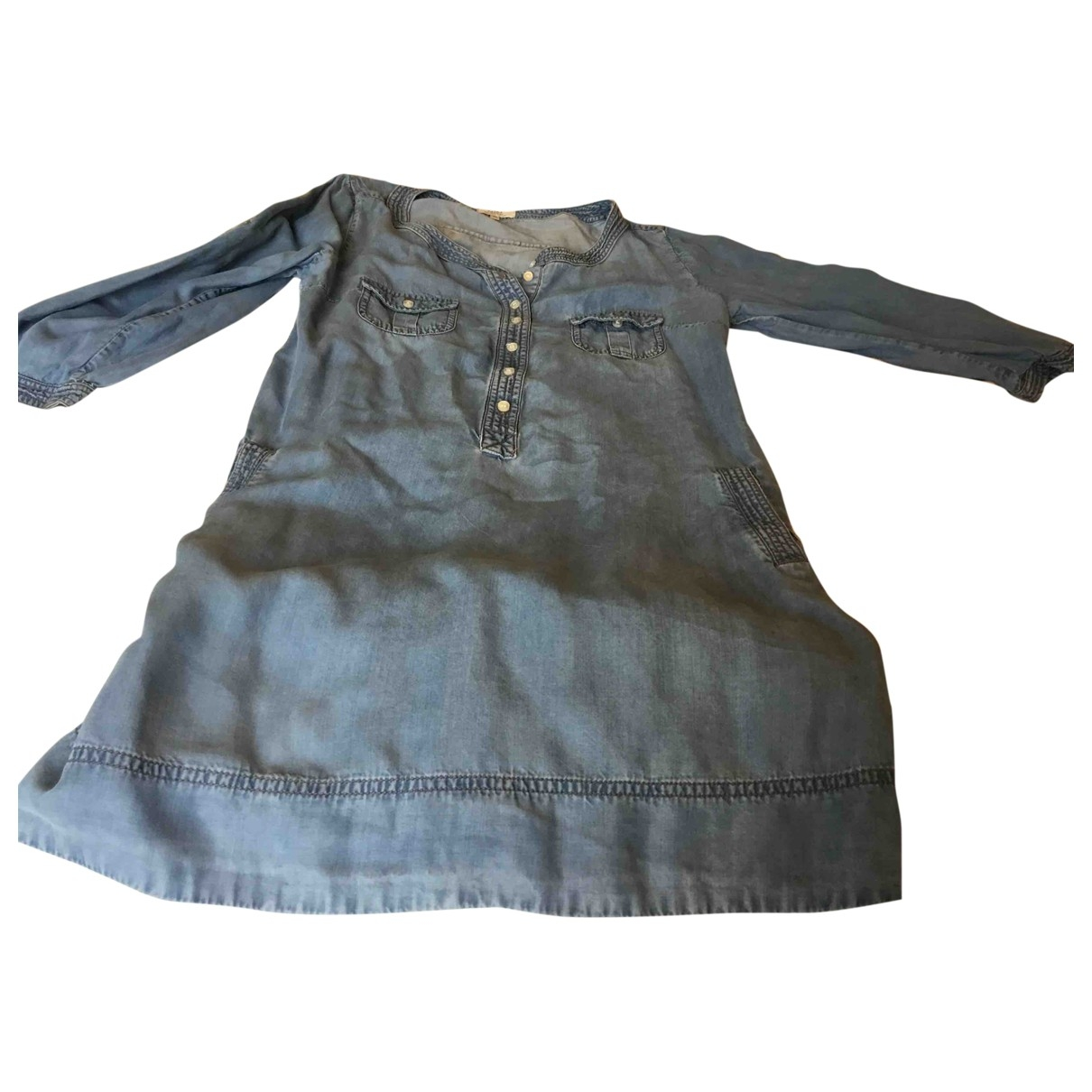 Pablo \N Kleid in  Blau Denim - Jeans