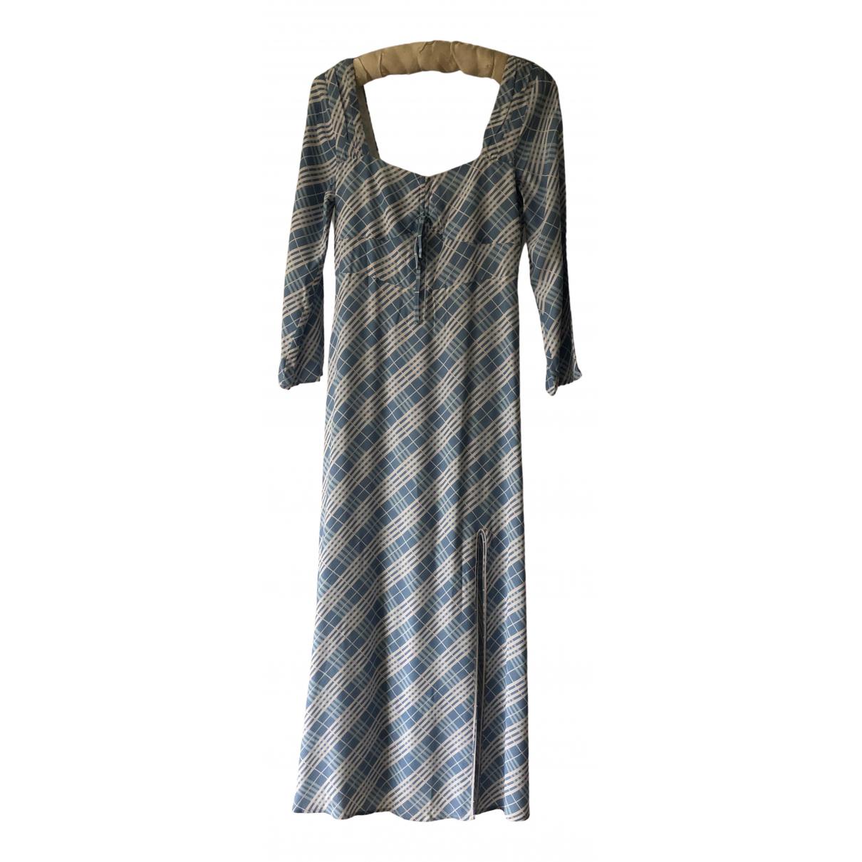 Rixo \N Kleid in  Blau Viskose