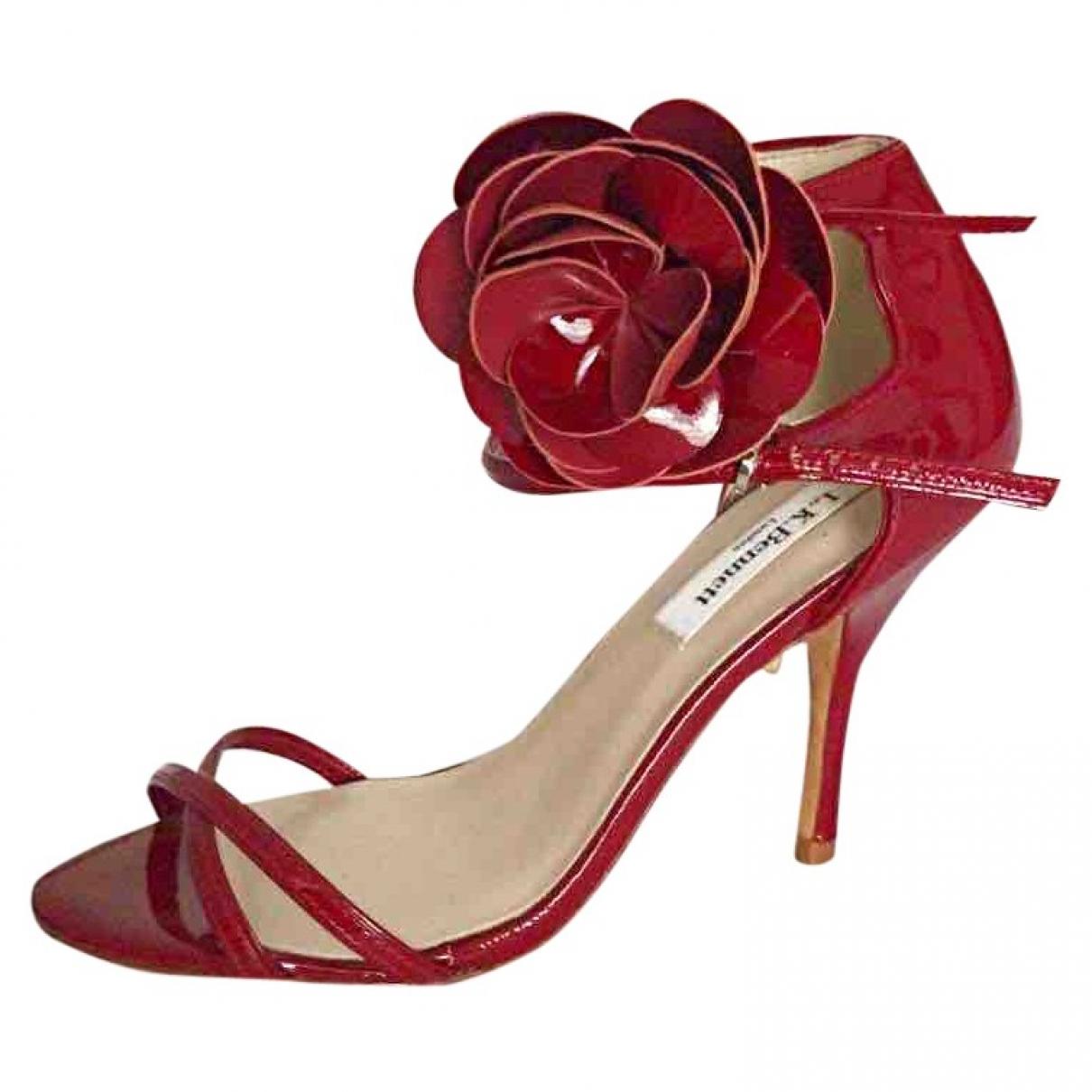 Lk Bennett \N Red Patent leather Sandals for Women 4 UK