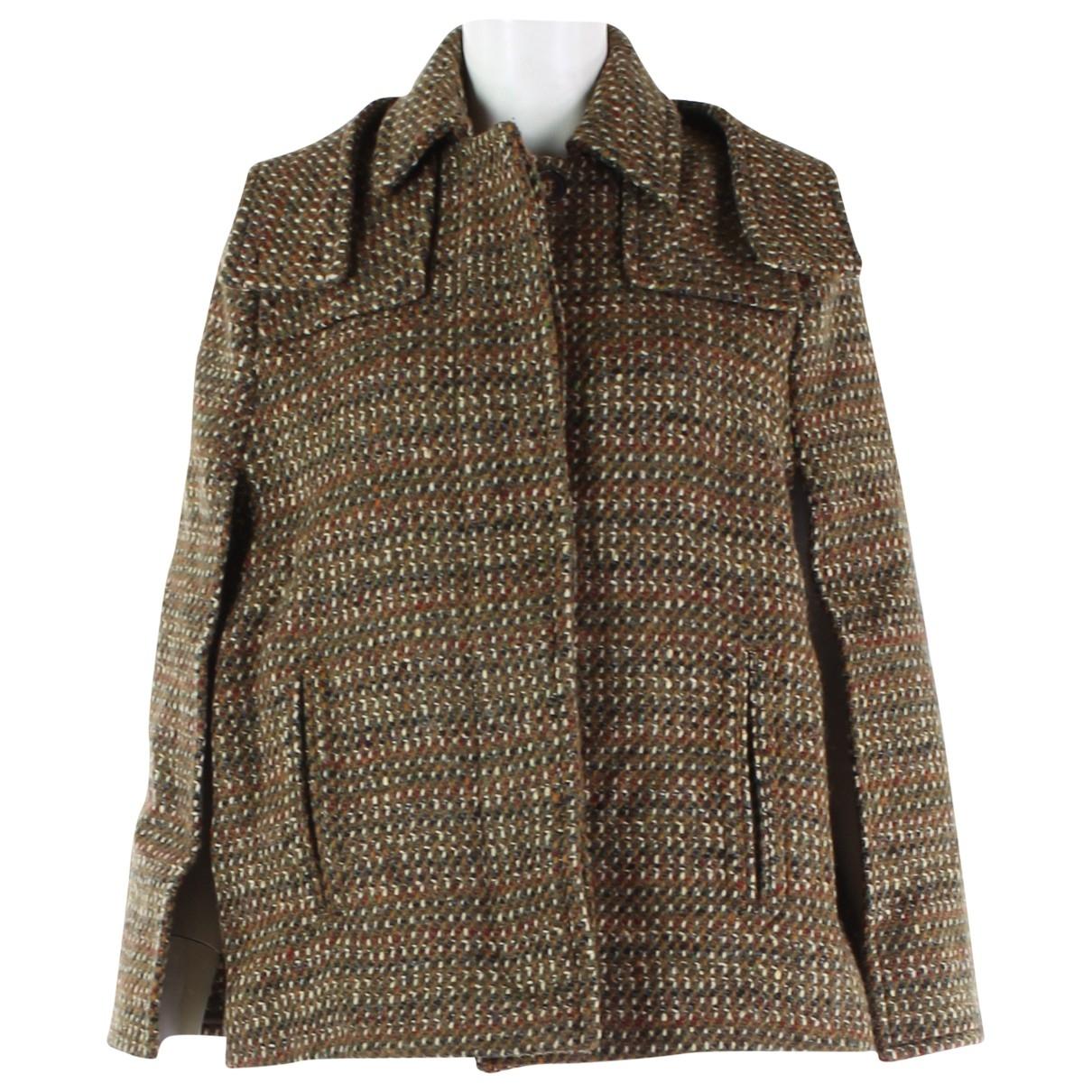 Stella Mccartney - Manteau   pour femme en laine - multicolore
