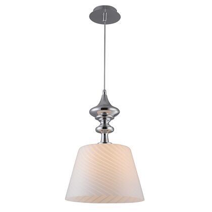 B4301 Martell White Glass Lighting