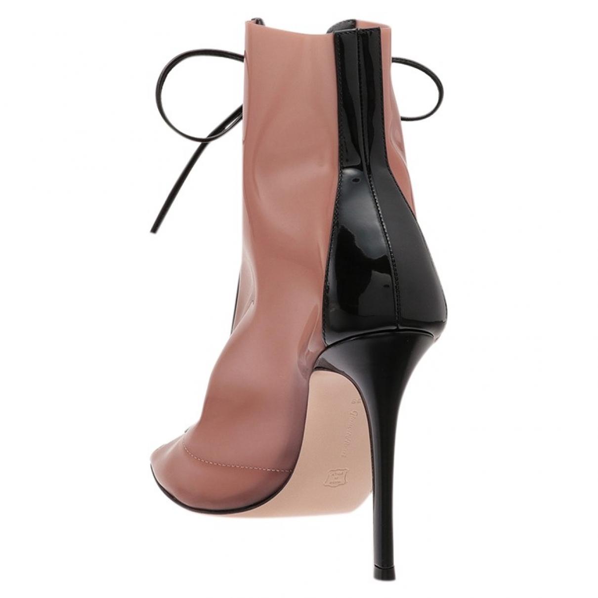 Gianvito Rossi - Boots   pour femme - noir