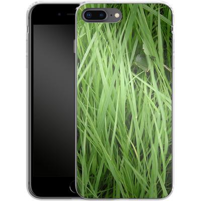 Apple iPhone 7 Plus Silikon Handyhuelle - Grass von caseable Designs