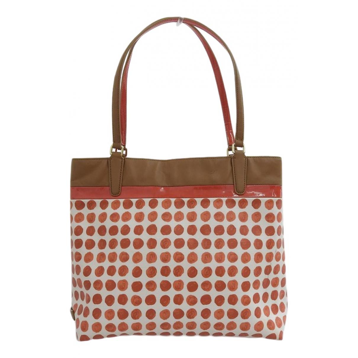 Coach \N Ecru Cloth handbag for Women \N