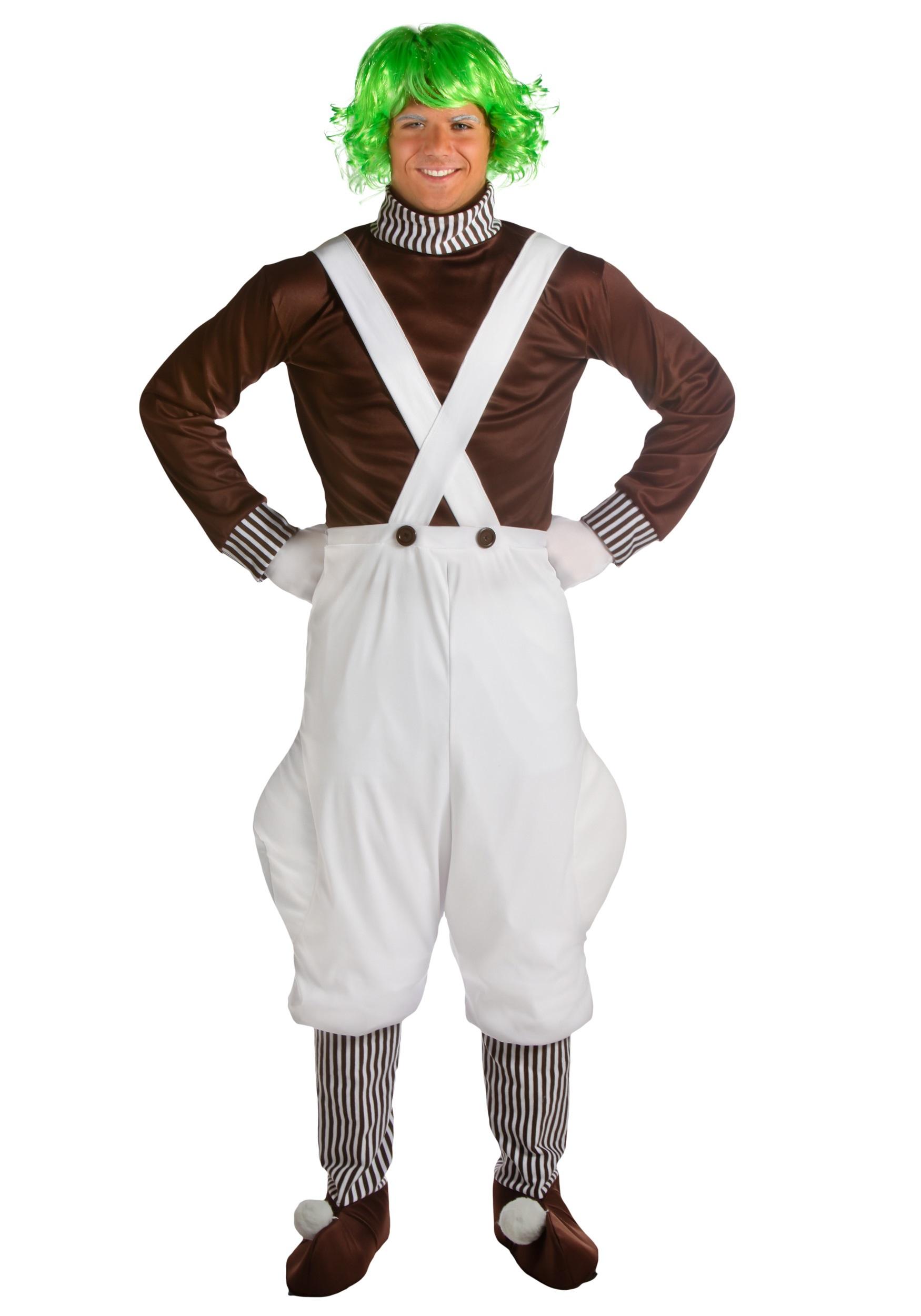 Oompa Loompa Plus Size Costume for Men