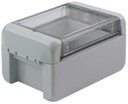 Bopla Bocube, Light Grey Polycarbonate Enclosure, IP66, IP68, Flanged, 113 x 80 x 60mm