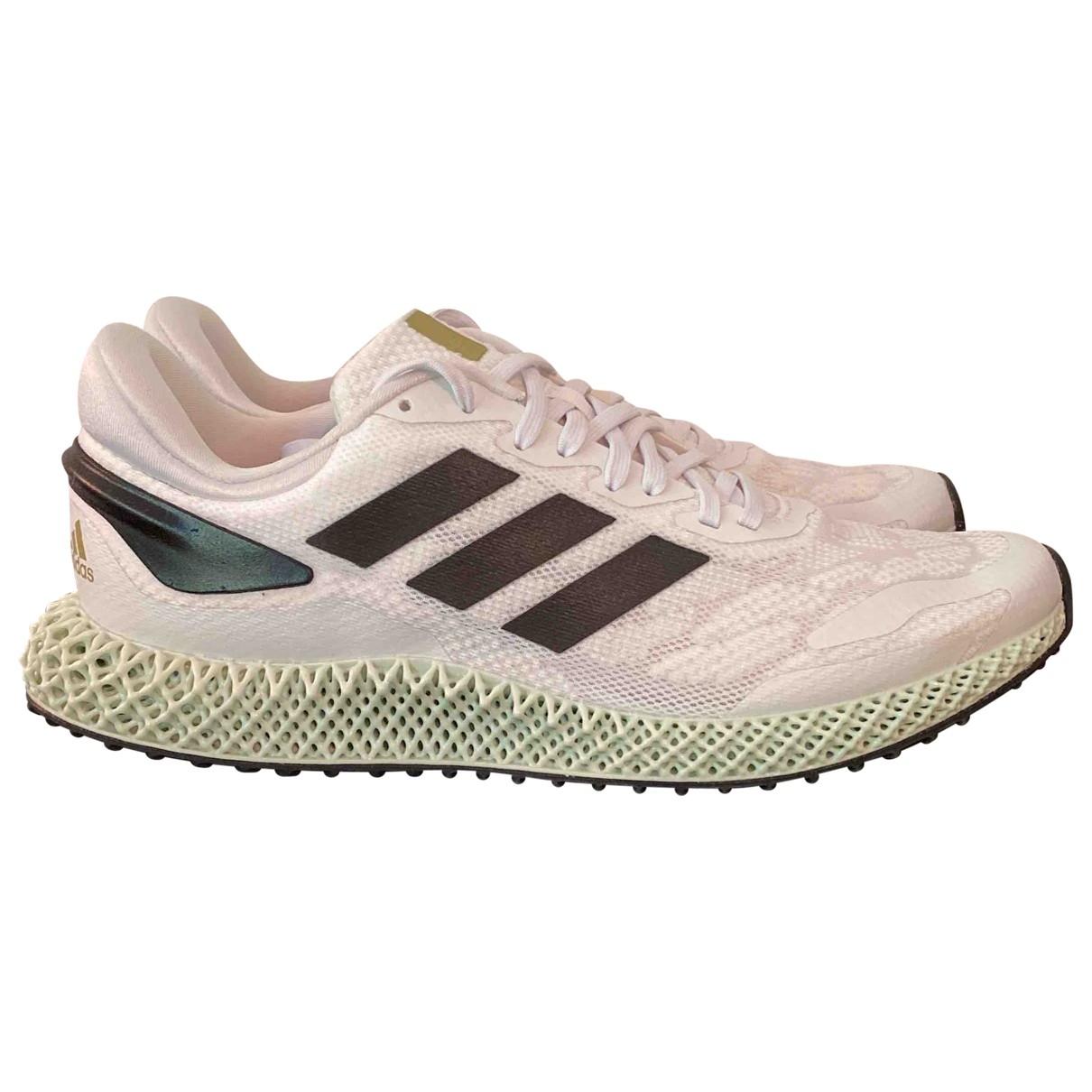 Adidas \N Sneakers in  Weiss Leinen