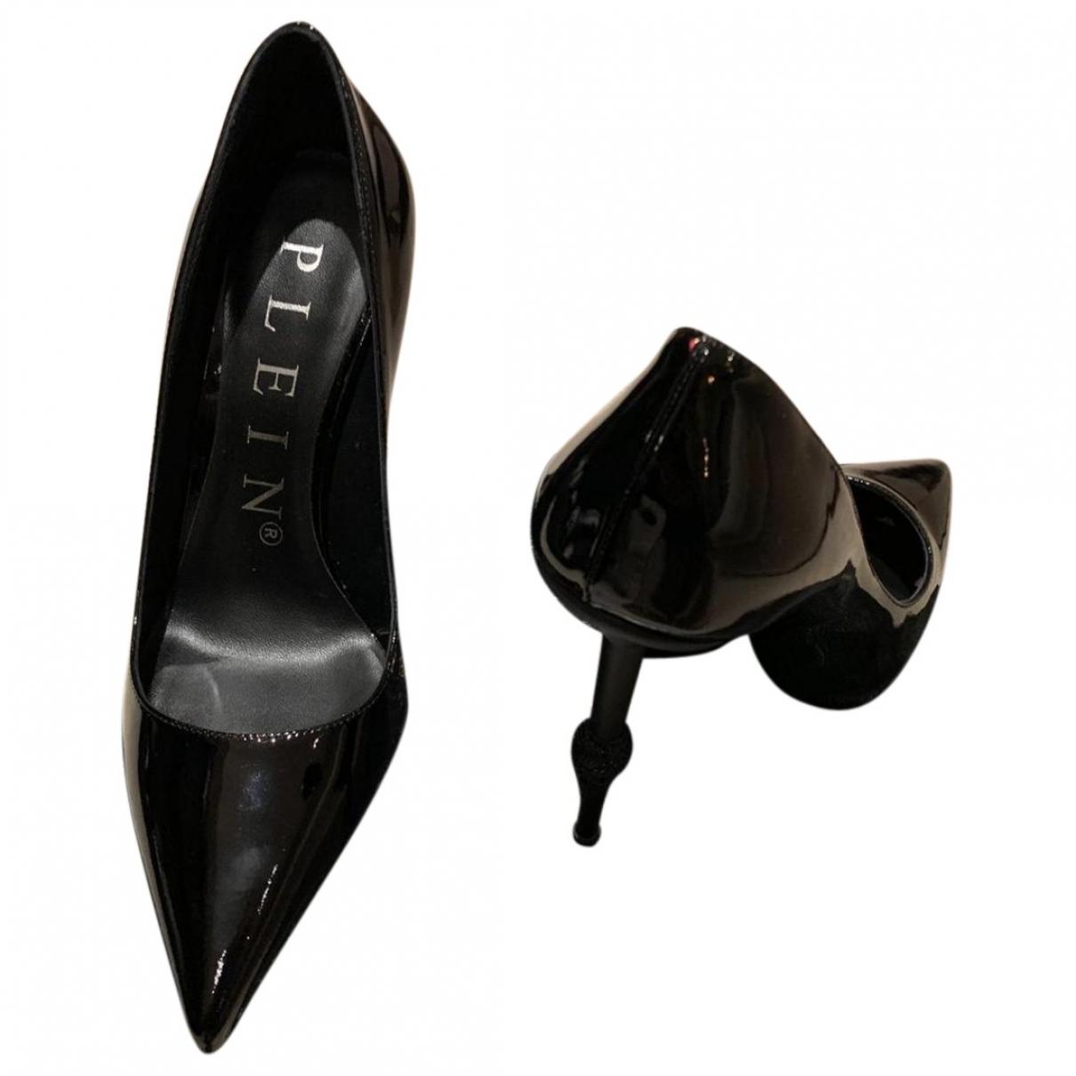 Philipp Plein - Escarpins   pour femme en cuir - noir