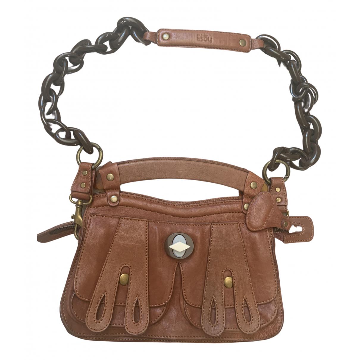 Hoss Intropia \N Handtasche in  Braun Leder