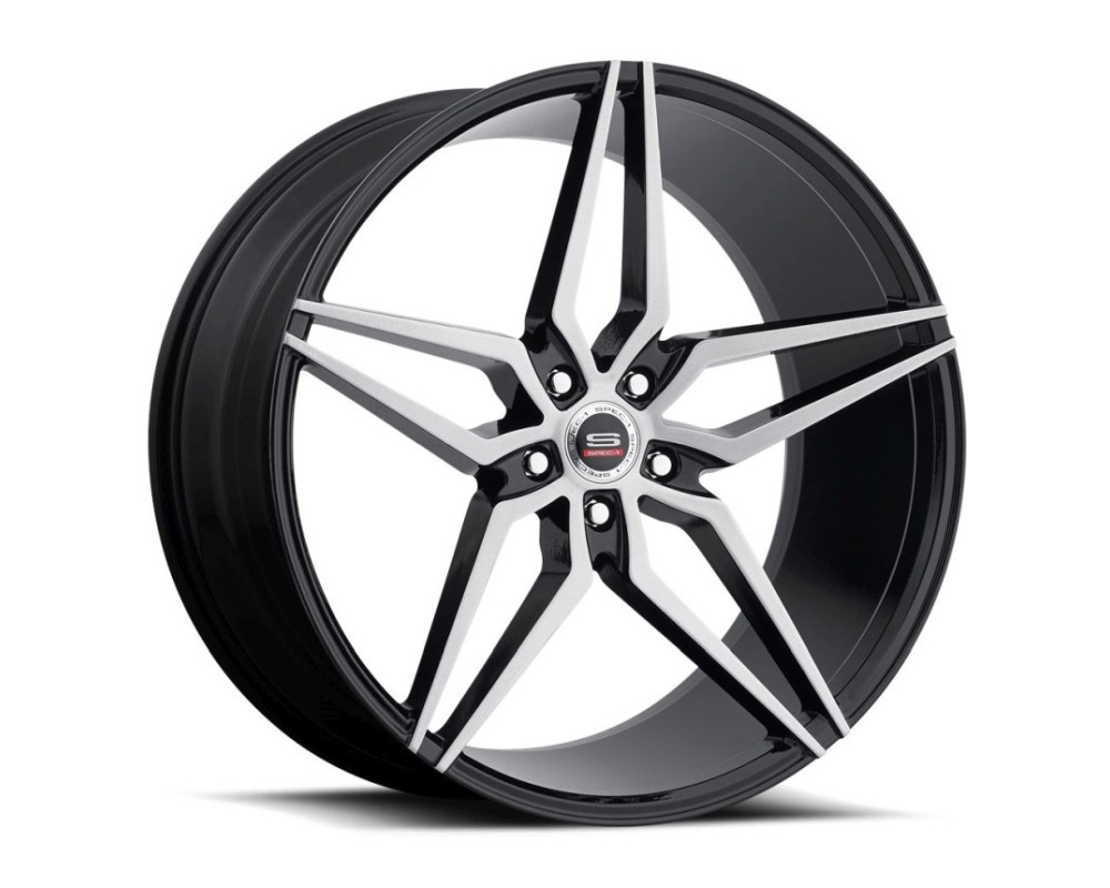 Spec-1 SPM-81 Wheel Monospec Series 20x10.5 Blank 20mm Gloss Black Brushed
