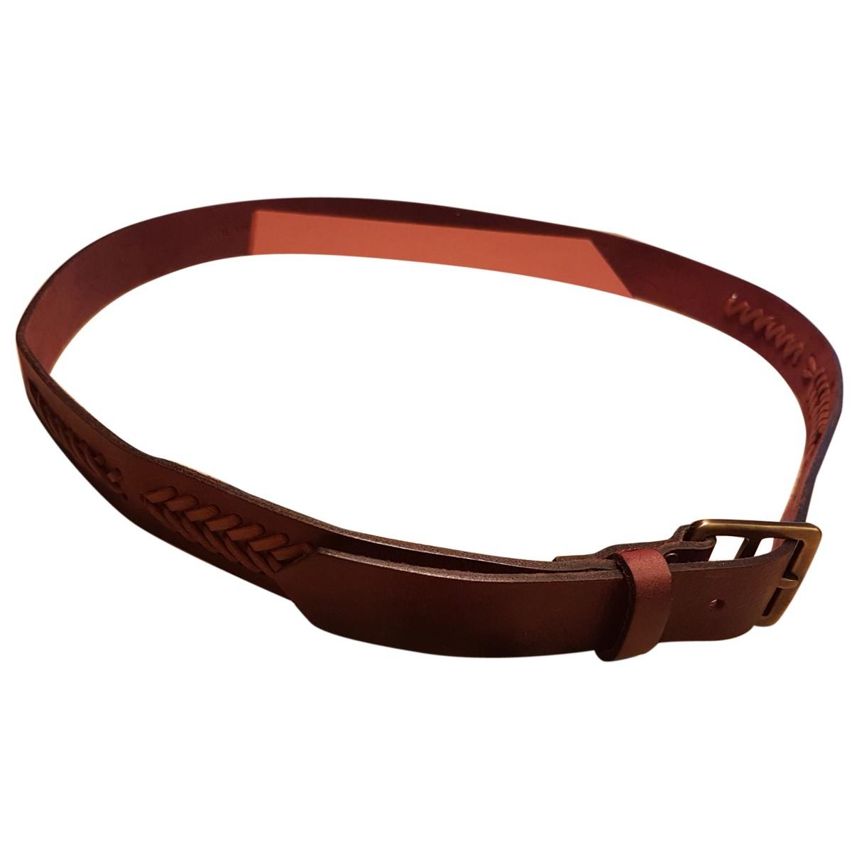 Cinturon de Cuero Missoni