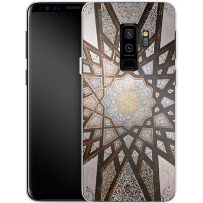 Samsung Galaxy S9 Plus Silikon Handyhuelle - Tile Star von Omid Scheybani