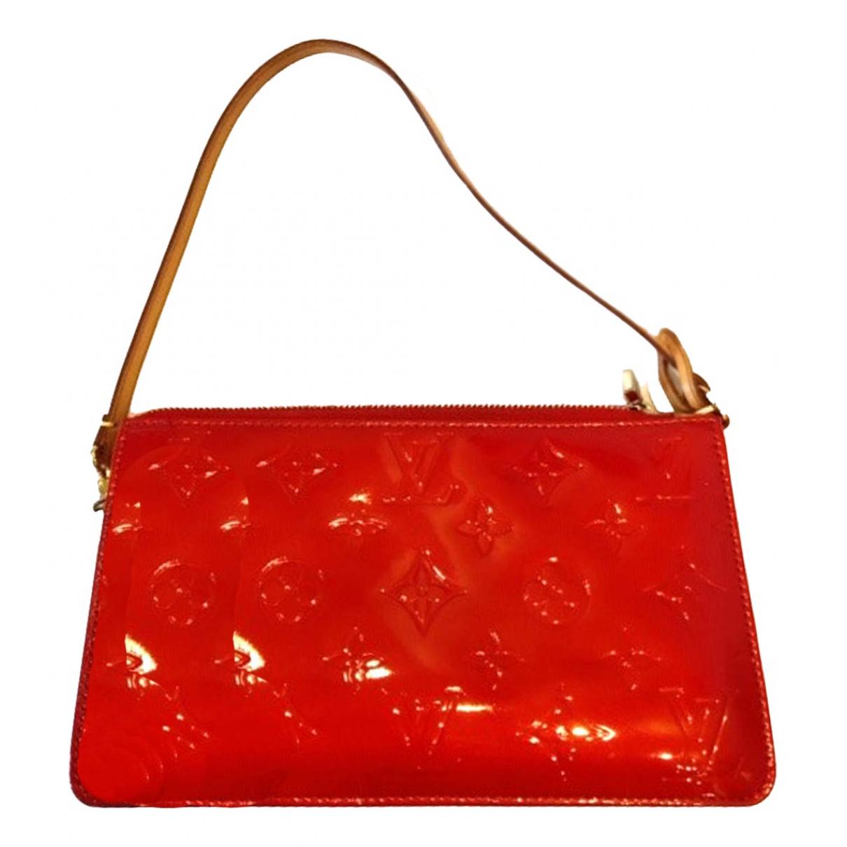 Louis Vuitton Lexington Red Patent leather Clutch bag for Women N