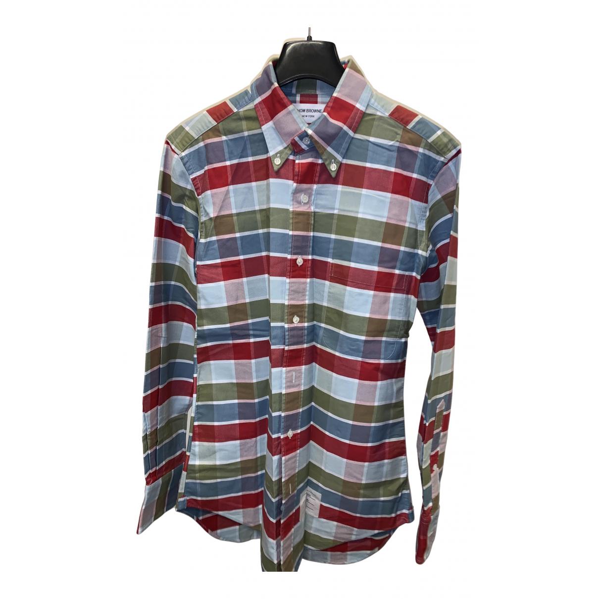 Thom Browne - Chemises   pour homme en coton - multicolore