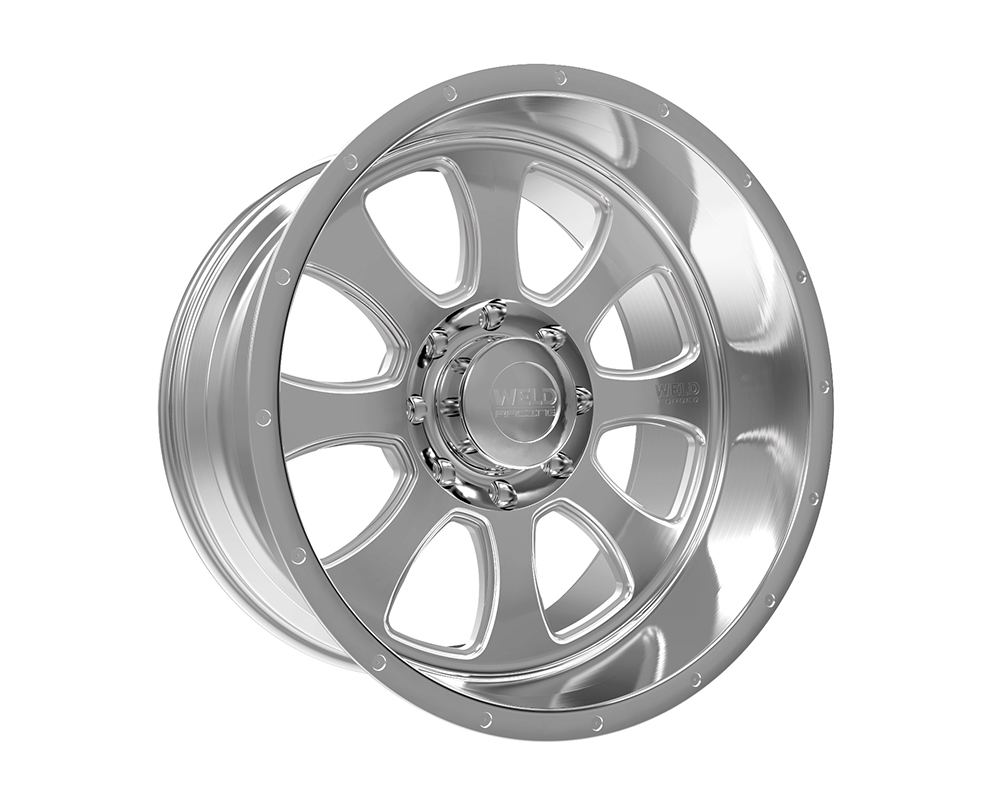 Weld Racing 82D3-22262-510N XT Renegade 22x12 6x120 -51mm Brushed w/Tinted Clear Smooth Lip